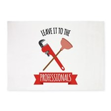 LEAVE IT TO THE PROFESSIONALS 5'x7'Area Rug