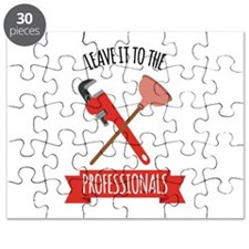 LEAVE IT TO THE PROFESSIONALS Puzzle