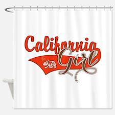 California Girl Shower Curtain