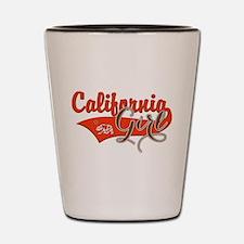 California Girl Shot Glass