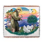 St.Francis #2/ Am Eskimo (2) Woven Blanket