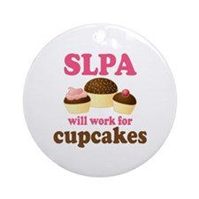SLPA cupcakes Ornament (Round)