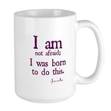 I am not afraid Mugs