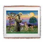 St Francis / G Shep Woven Blanket