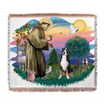 St.Francis #2/ Greater Swiss Woven Blanket