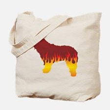 Bergamasco Flames Tote Bag