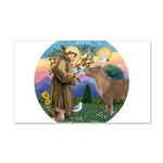 R-St Francis-ShetlandPONY.png 20x12 Wall Decal