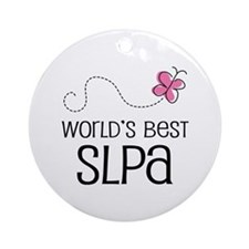 World's Best SLPA Ornament (Round)