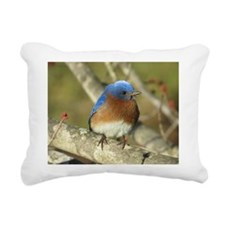 Bluebird Rectangular Canvas Pillow