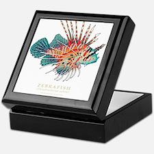 Unique Fish art Keepsake Box