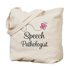 Speech Pathologist butterfly Tote Bag
