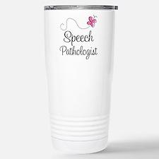 Speech Pathologist butt Travel Mug