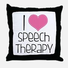 World's Best SLPA Throw Pillow