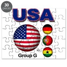 USA Soccer G Puzzle
