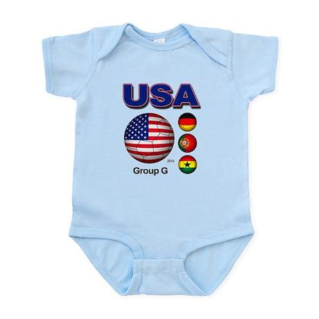 USA Soccer G Body Suit