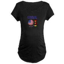 USA Soccer G Maternity T-Shirt