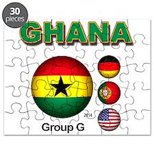 Ghana Soccer Puzzle