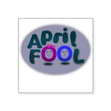 April Fools Day Sticker