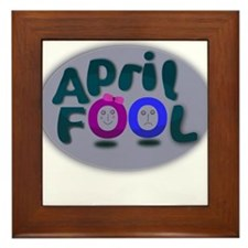 April Fools Day Framed Tile