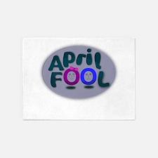 April Fools Day 5'x7'Area Rug
