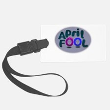 April Fools Day Luggage Tag