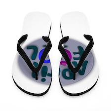 April Fools Day Flip Flops
