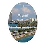Miami Oval Ornaments