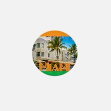 Miami Mini Button