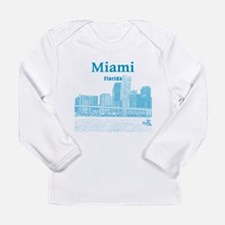 Miami Long Sleeve Infant T-Shirt