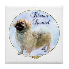 Tibbie Portrait Tile Coaster
