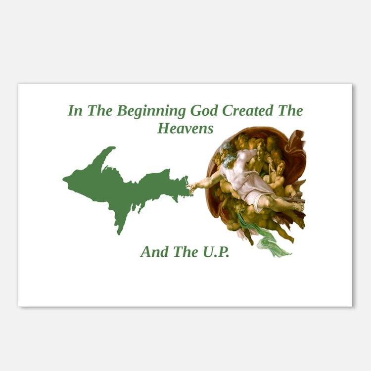 Cute Upper peninsula Postcards (Package of 8)