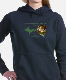 Upper peninsula Women's Hooded Sweatshirt