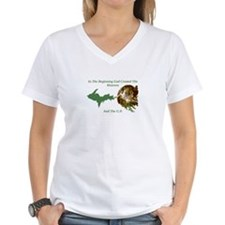 God Reaches Out To The U.P. T-Shirt