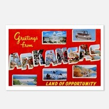 Arkansas Greetings Postcards (Package of 8)