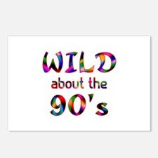 Wild About the 90s Postcards (Package of 8)