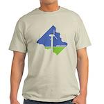 Wind Energy Logo Light T-Shirt