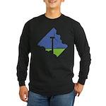 Wind Energy Logo Long Sleeve Dark T-Shirt