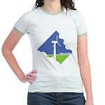 Wind Energy Logo Jr. Ringer T-Shirt
