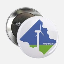 "Wind Energy Logo 2.25"" Button"
