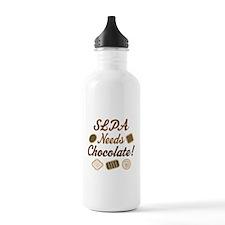 SLPA Needs Chocolate Water Bottle
