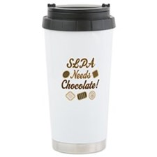 SLPA Needs Chocolate Travel Mug