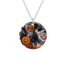 Halloween yorkies Necklace