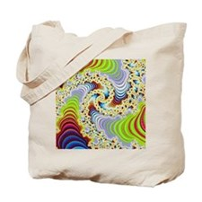 special fractal colorful 08 Tote Bag