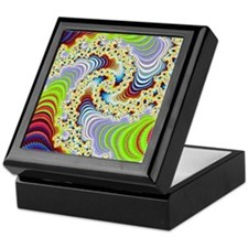 special fractal colorful 08 Keepsake Box
