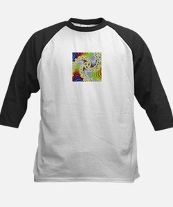 special fractal colorful 08 Baseball Jersey