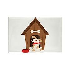 5. Dog Adoption House Magnets