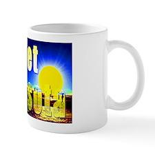 Sunset In Sarasota Mugs