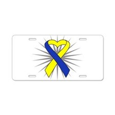 Down Syndrome Aluminum License Plate