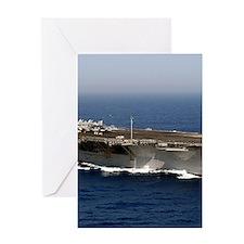 USS Enterprise CVN 65 Greeting Cards