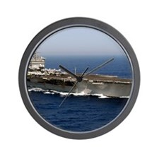 USS Enterprise CVN 65 Wall Clock